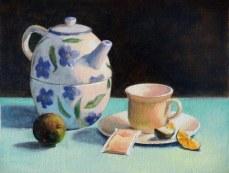 Tea Pot and Costa Rica Lime