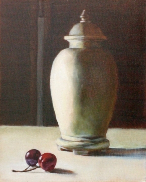 Two Cherries and an Urn