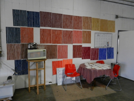 Color swatches at Natural Pigments
