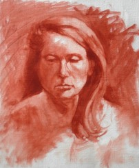 Oil Sketch Signe