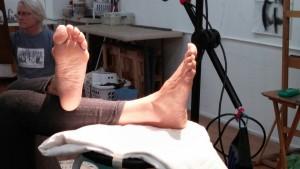 Real feet