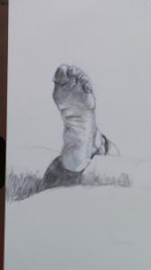 Pencil Foot