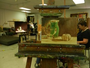 Demo, Painting the Still Life in Color and Light