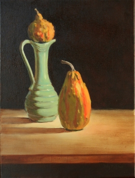 Two Gourds and Vase