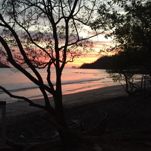Sunset at the Beach...